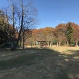 中岡本緑公園の遊具方面